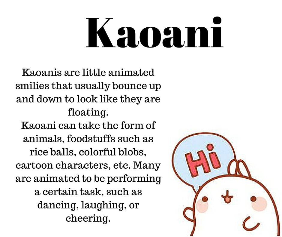 Anime Dictionary Kaoani