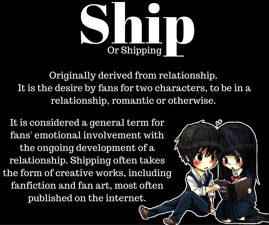 anime dictionary Ship