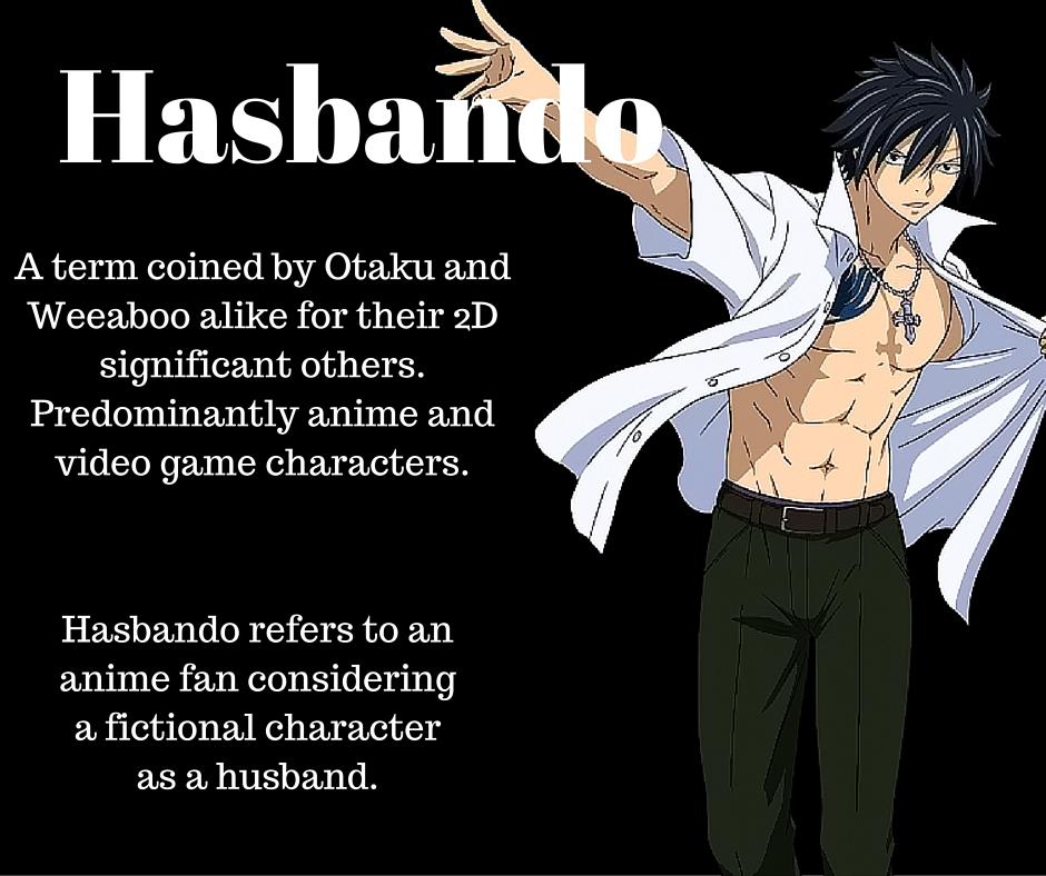 anime dictionary Husbando