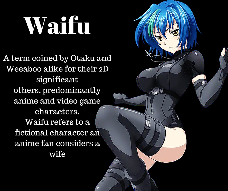 anime dictionary Waifu