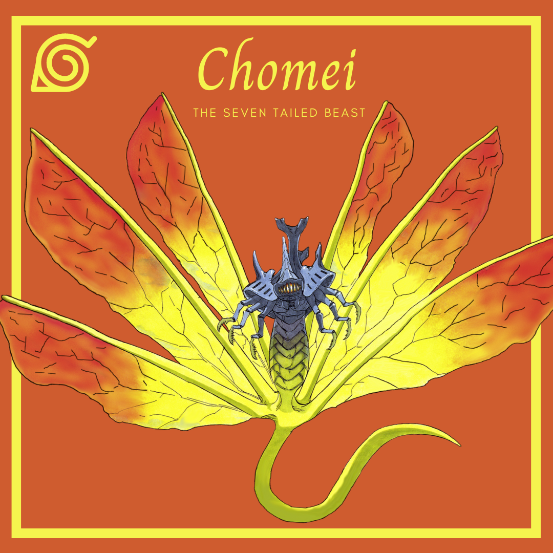 The Tailed Beasts of Naruto Chomei the seven tailed beast AllAnimeMag