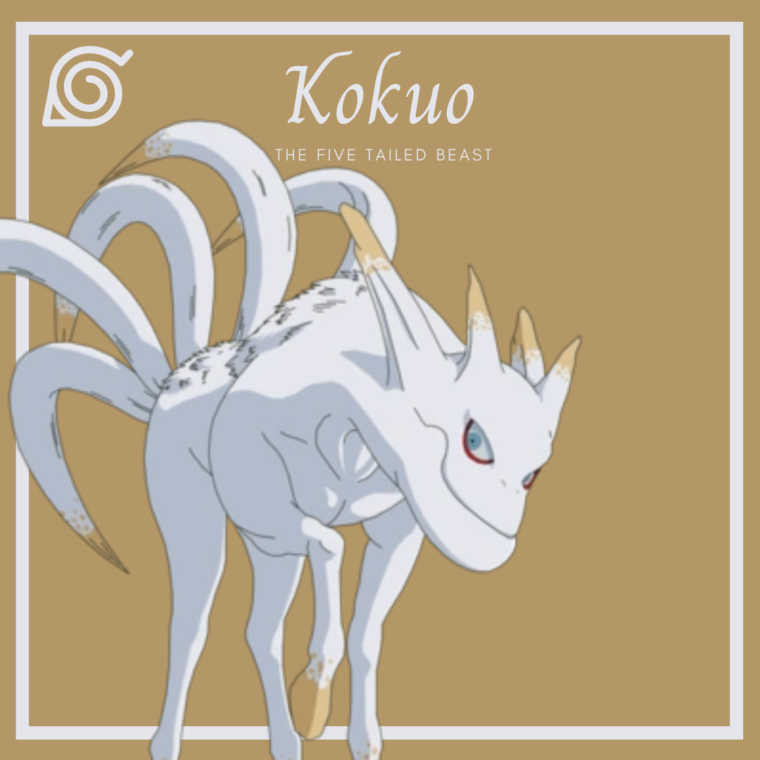 The Tailed Beasts of Naruto Kokuo the five tailed beast AllAnimeMag
