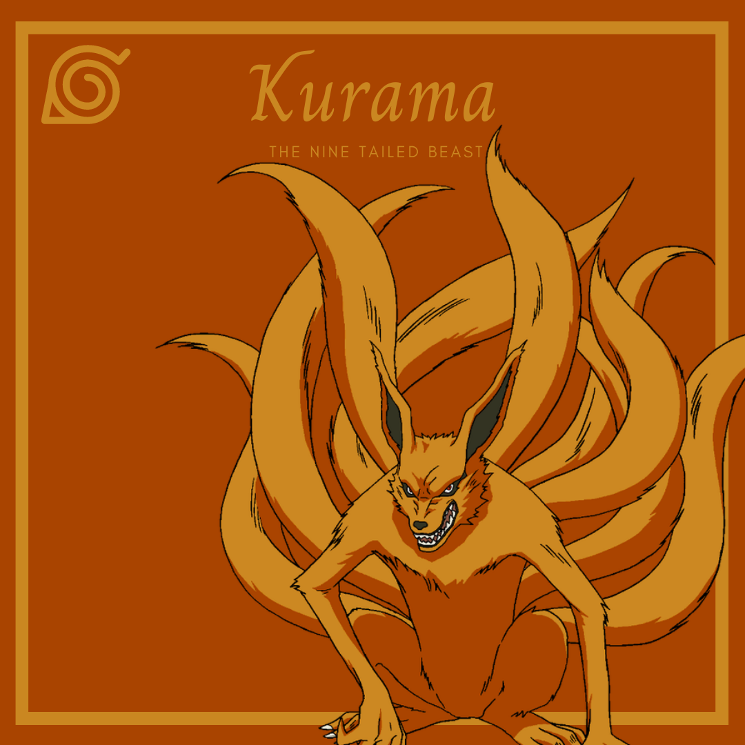The Tailed Beasts of Naruto Kurama the nine tailed beast AllAnimeMag