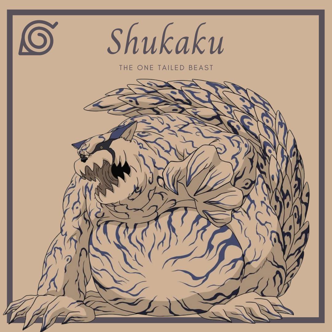 The Tailed Beasts of Naruto Shukaku the one tailed beast AllAnimeMag