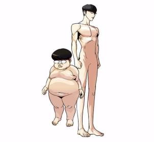 Lookism Webtoon Two Bodies