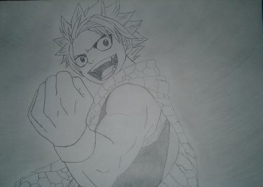 Fairy Tail Natsu Anime Fan Art Friday