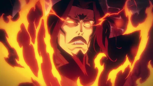 Castlevania anime Count Vlad Dracula Tepes