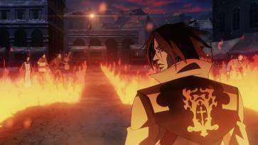 Castlevania anime Trevor flame path