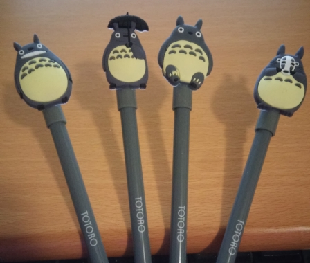 Totoro Gel Pens