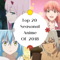 Top 20 Seasonal Anime of 2018