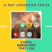 3 Legal Manga Apps That I Use