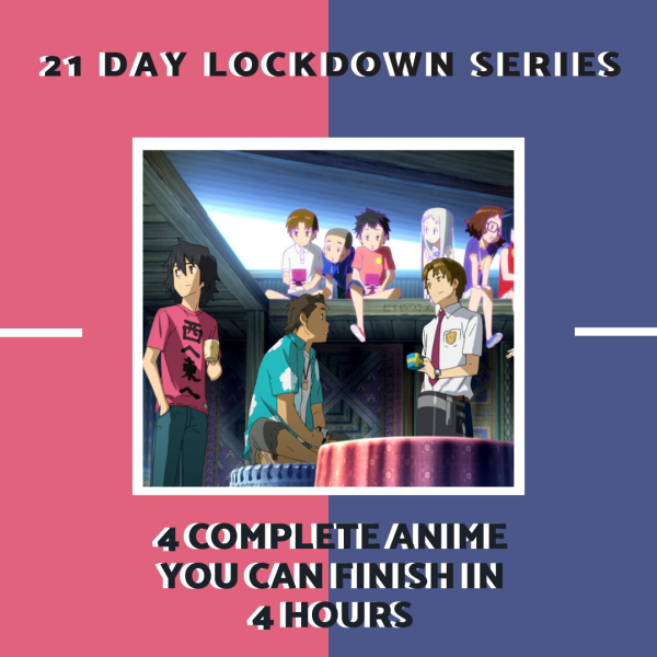 21 day lockdown series allanimemag 4 Complete Anime You Can Finish in 4 Hours