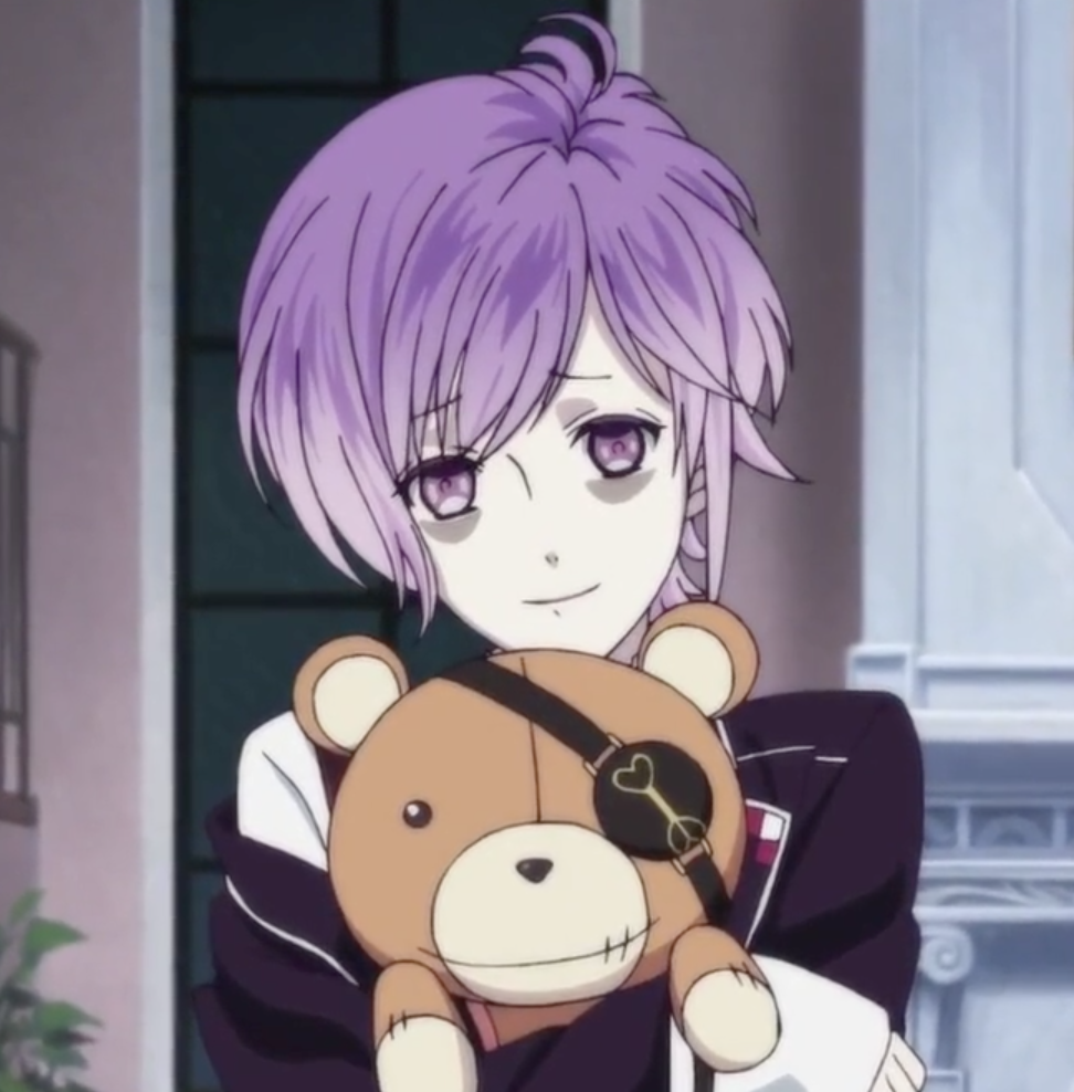 Kanato Sakamaki Diabolik Lovers purple hair anime character allanimemag