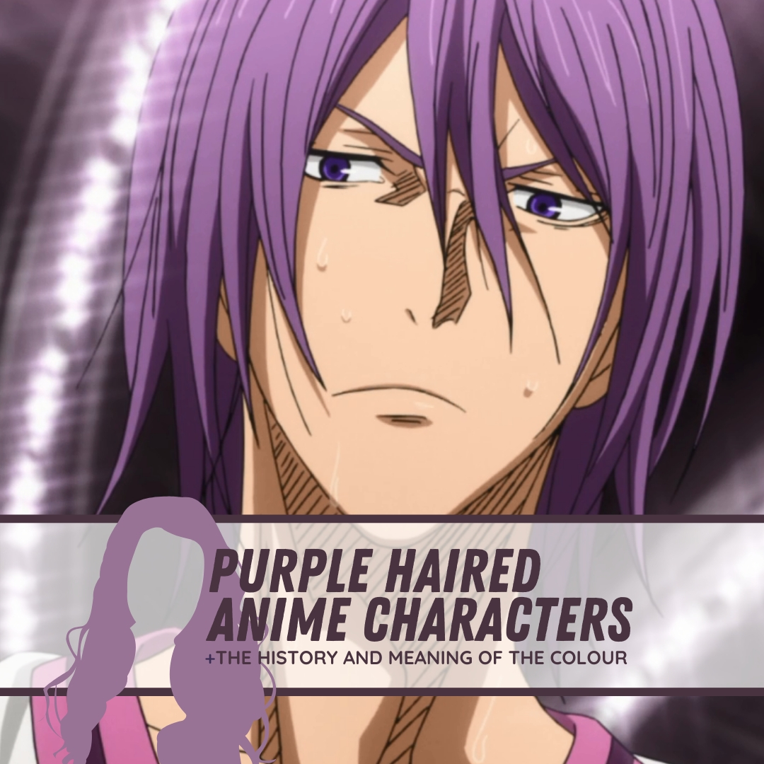 meaning and history of the colour purple anime haired character allanimemag