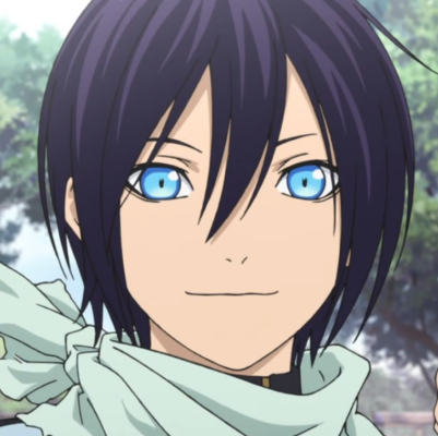Yato Noragami purple hair anime character allanimemag