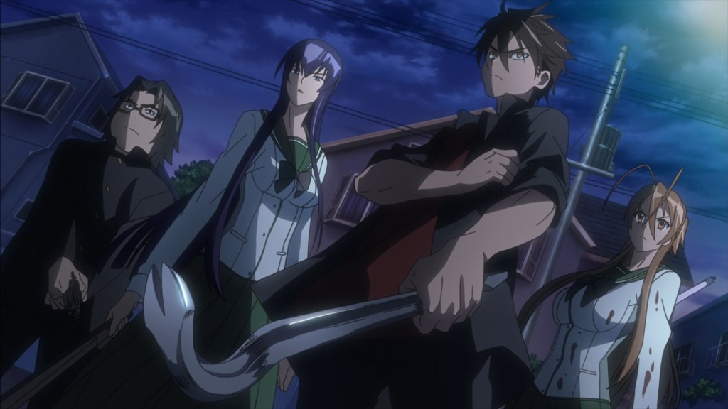 Highschool Of The Dead AllAnimeMag Halloween Anime Recommendation