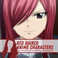 Red-Haired Anime Characters