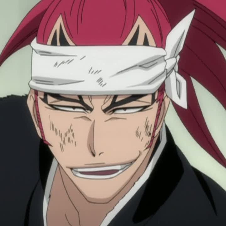Renji Red Haired Anime Character