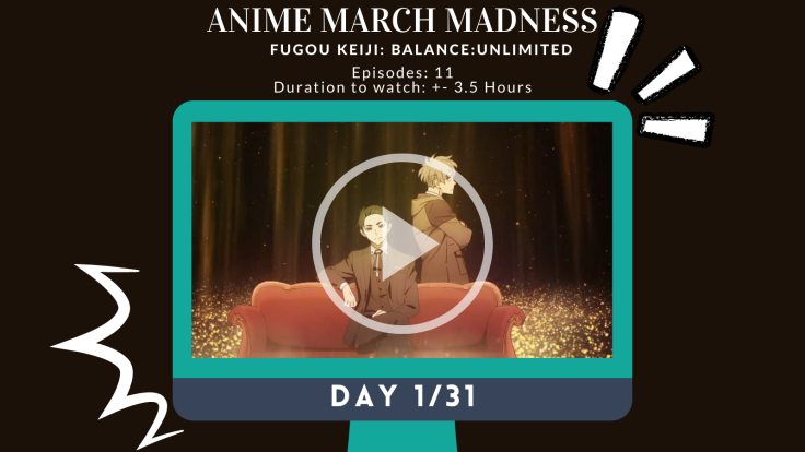 Anime March Madness Day 1 AllAnimeMag Balance Unlimited