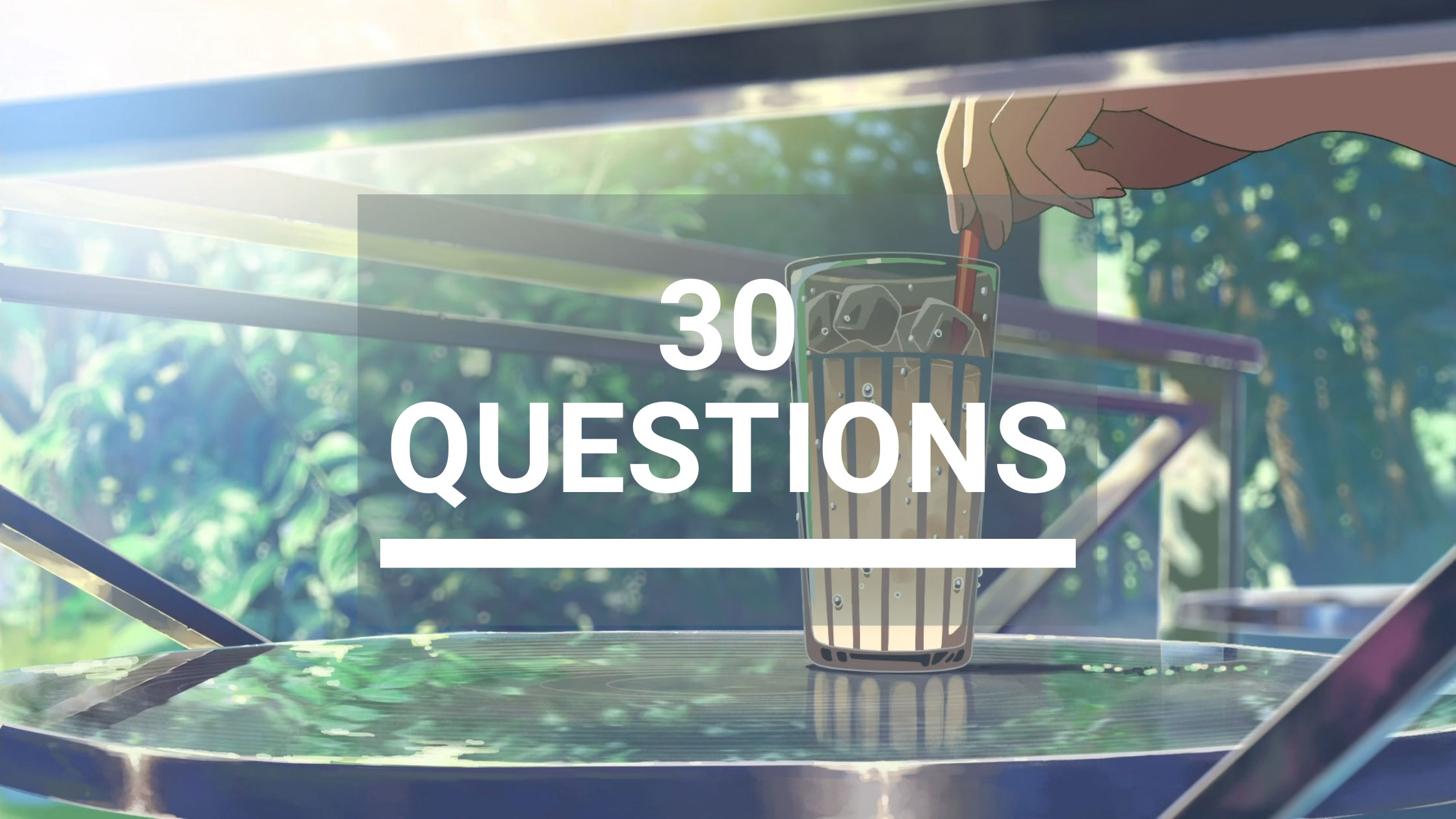 30-anime-questions