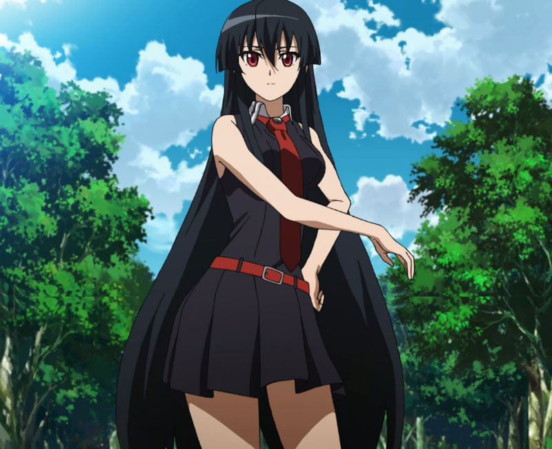 Pan-Shot-Akame-Ga-Kill-Akame-Outfit-Looks-allanimemag